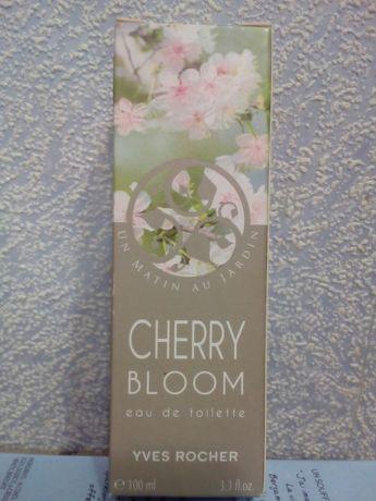 Духи Ив Роше Вишневый Цвет Cherry Bloom 100мл новые в упаковке