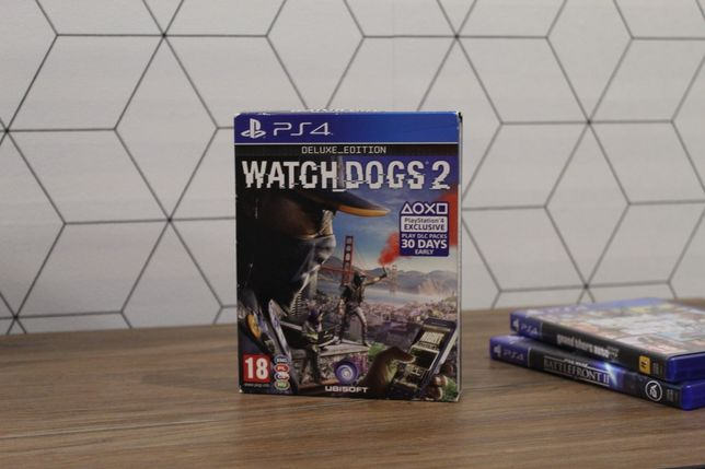 Watch Dogs 2 Edycja Deluxe na PS4