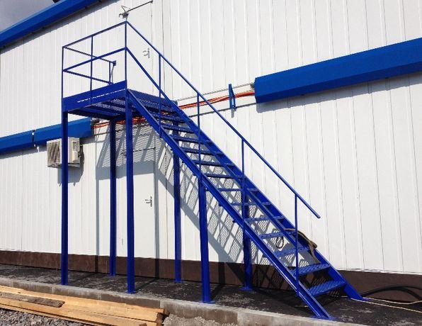 Лестницы под заказ. Металлоконструкции любой сложности. Лофт-дизайн.