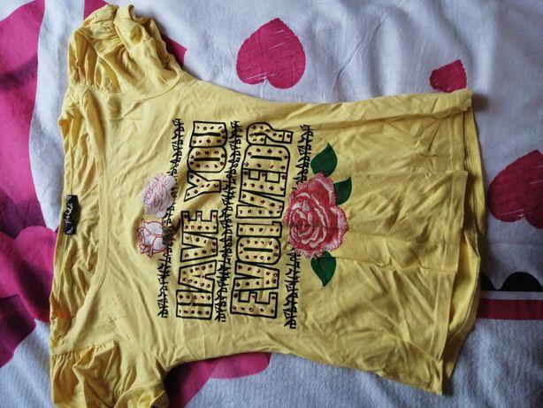 Koszulka piękna rozmiar S cena 15 zł