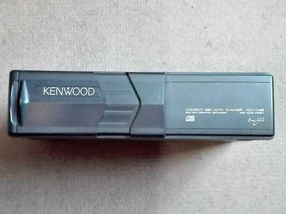 Caixa Leitor CD`s Auto Kenwood KDC-C465