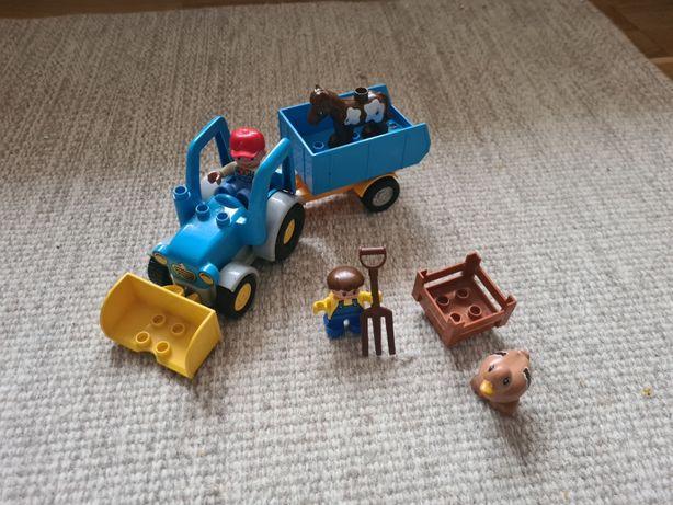 Lego Duplo traktor farmer