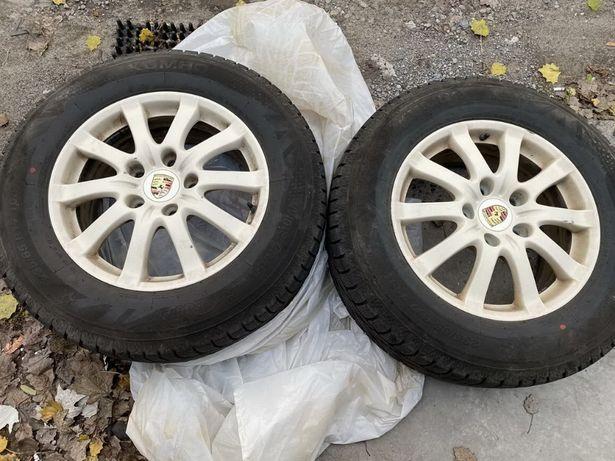 Зимняя резина KUMHO 235/65/17 на 17''дисках,Porshe,Volkswagen оригинал