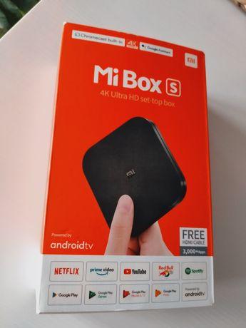 Mi Box S 4K Ultra HD set - top box
