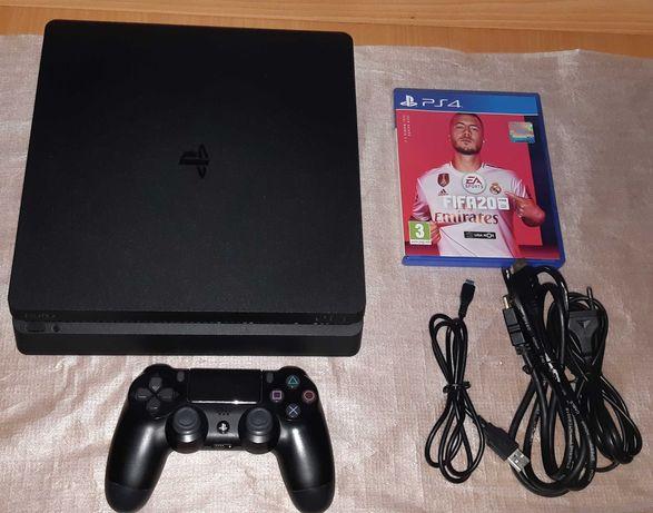 Ps4/Playstation Slim 1 TB + Comando Original + Oferta do Fifa 20
