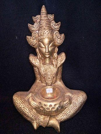 Divindade Asiática Bronze