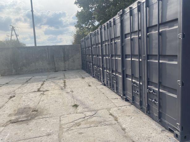 Magazyn samobslugowy do wynajecia / kontener przechowalnia lodzi skute