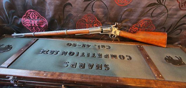 Replika karabinu rewolwerowego Colt - dekoracja