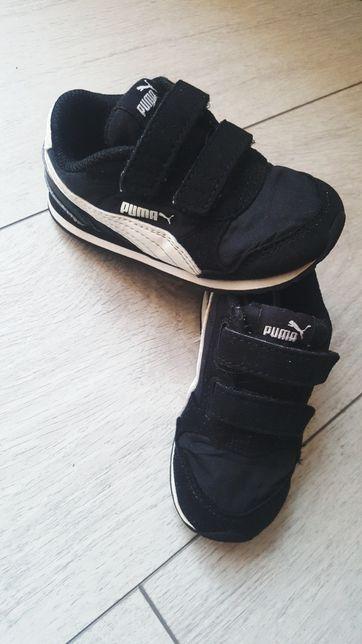 Buty adidasy Puma czarne r. 23 leciutkie buciki chłopięce