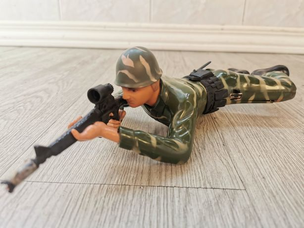 Boneco militar anos 80