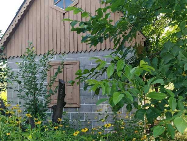 Дача дом с садом