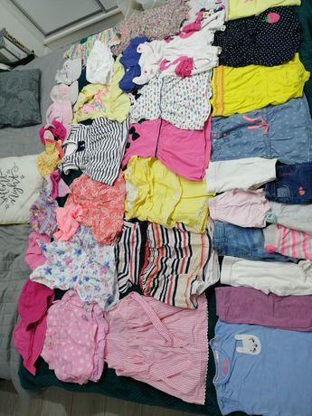 Ubranka wiosna-lato dziewczynka 9-12m