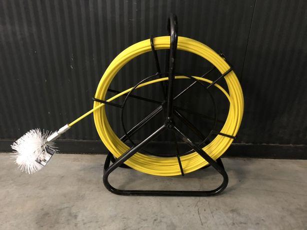 Cabo fibra flexível