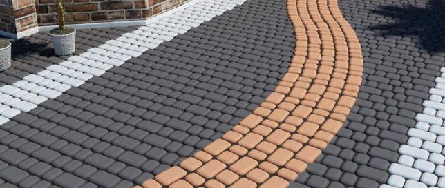 Тротуарная плитка: производство и укладка.