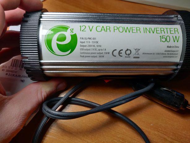 Автомобильный инвертор 150 Ватт (на гарантии