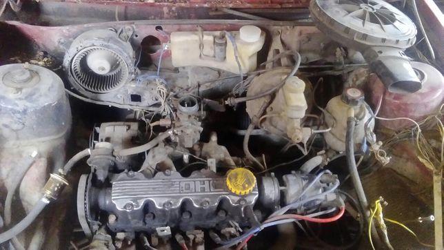 Opel kadett b 1.3 двигатель кпп 4. Рулевая рейка бампер