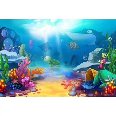 Fundo mar foto tema aniversario peixe