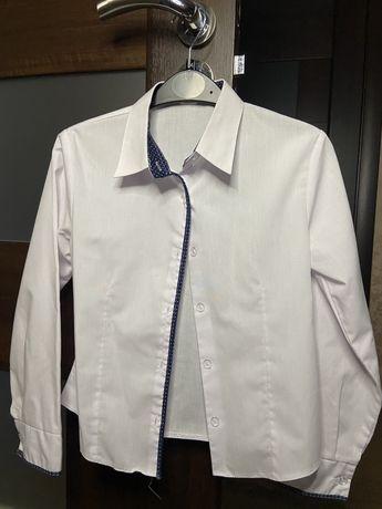 Классическая рубашка на рост 128-134 см