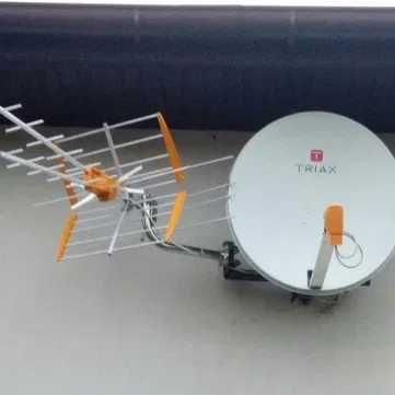 Montaż i serwis anten telewizji satelitarnej oraz naziemnej