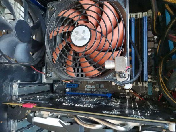 Intel i7-2600K, ASUS P8P67, 16Gb DDR3 1600, Big Typhoon VX, SSD 120Gb