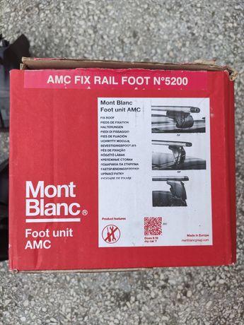 Stopy mocowania do bagażnika Mont Blanc serii AMC