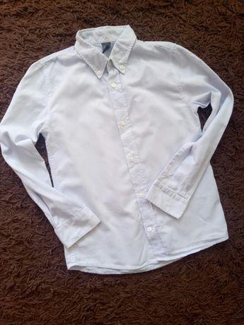 Zara kids рубашка на мальчика 7-8 лет