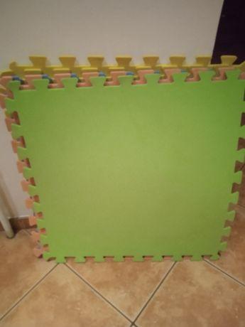 Duże Puzzle piankowe na podłogę 6 szt