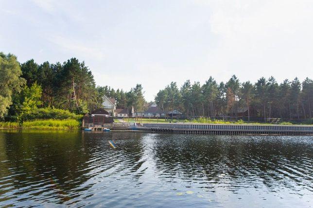 Дом для рыбаков и охотников на берегу Днепра в с.Крещатик