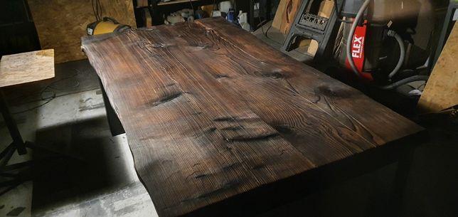 Stół  190x105  drewniany masywny ciężki