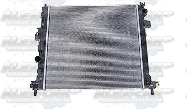 Радиатор охлаждения кондиционера вентилятор диффузор Chevrolet USA