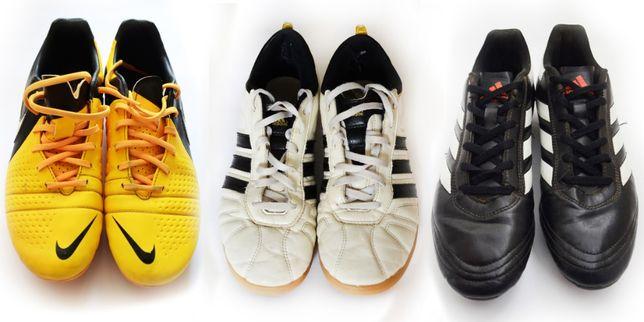 Сороконожки Nike розмір 40 футзалки Adidas копочки