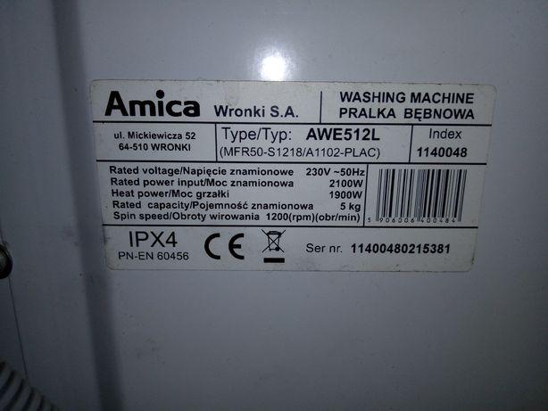 Części do pralki Amica navigator awe512L tanio!
