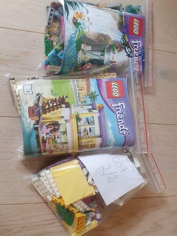 2 zestawy Lego friends 41037 Letni Domek Stephanie 41033 Dzikie wodosp