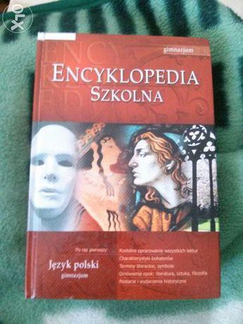 Encyklopedia szkolna jezyk polski dla gimnazjum