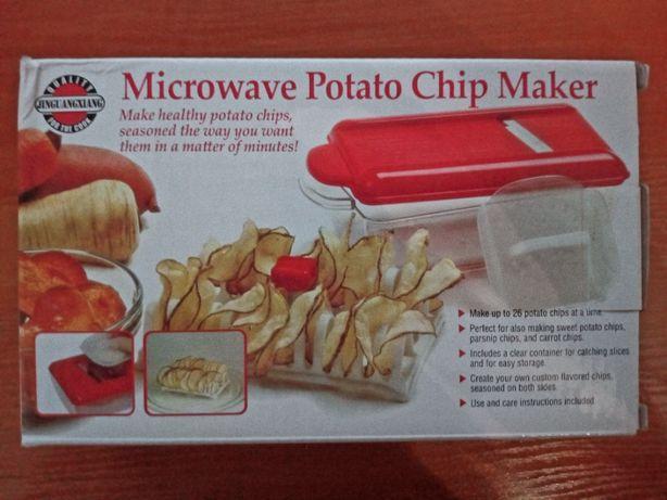 Набор приготовления чипсов в микроволновке Microwave Potato Chip Maker
