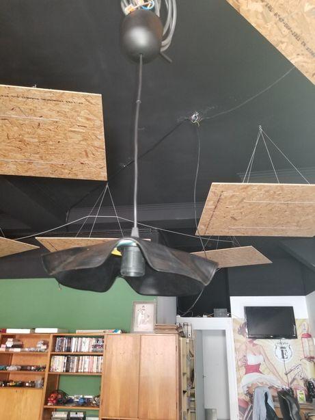 Candeeiro de teto em disco vinil