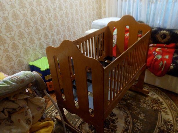 Кровать люлька для новорожденного