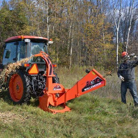 Щепоруб Измельчитель веток на трактор Дробилка дерева Щепорез (Канада)