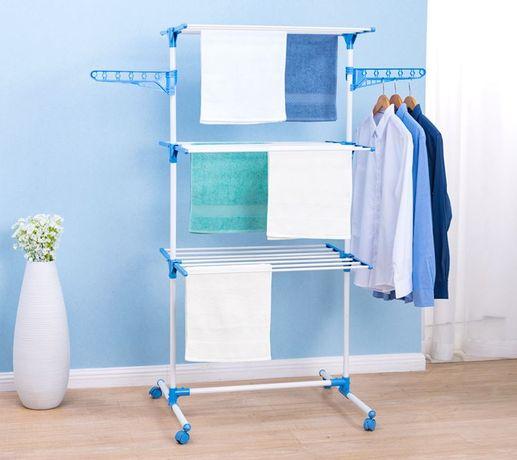 Suszarka do prania pionowa składana 3 poziomy