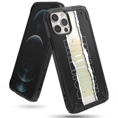 Capa Silicone Ringke Iphone 12 Pro Max Fusion X Routine - Preto