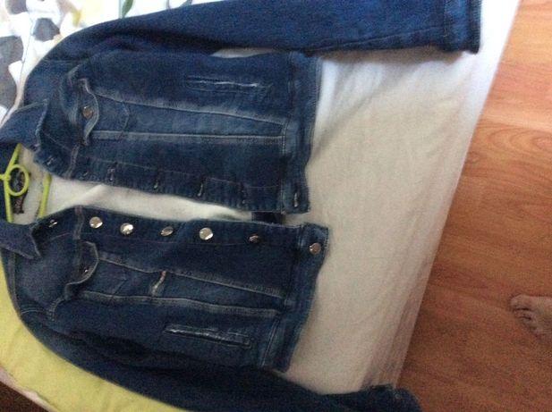 Kurtka jeans stretch rozm. 44