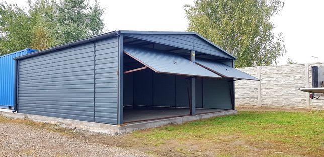 Producent garaży Drewnopodobnych (garaze blaszane,blaszaki,kojce)