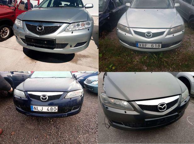 Розборка Mazda 6 gg запчастини, Мазда 6 на запчасти разборка 2002-2007