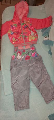 Komplet spodnie i kurtka