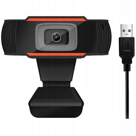 Kamerka internetowa z kabelem USB i do nauki i wirtualnych spotkań