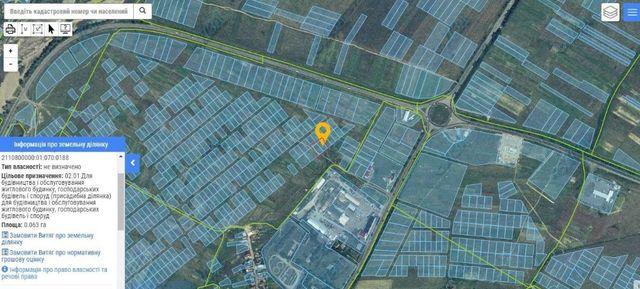 2 (дві) сусідні земельні ділянки в найпрестижнішому районі м. Хуст