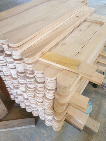 Sztachety Ogrodzeniowe Drewniane Świerkowe Wysyłka Cały Kraj