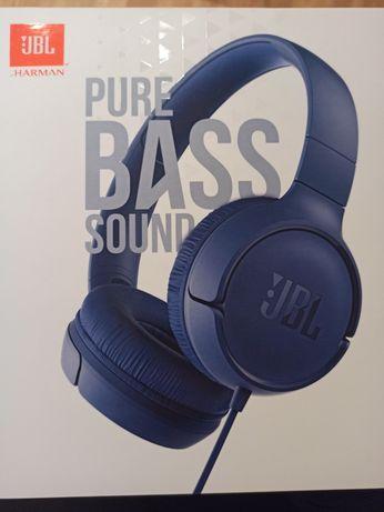 Nowe nieużywane słuchawki JBL TUNE 500 (czarny)
