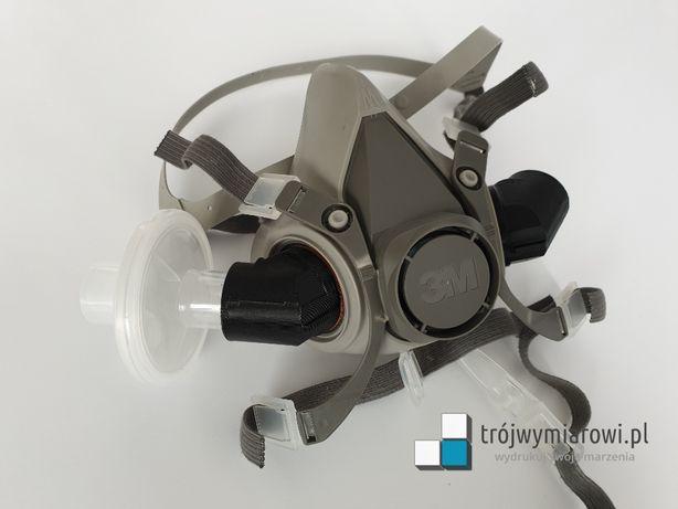 Adapter kątowy maski 3M do filtra medycznego DAR