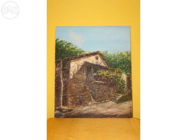 Quadro - óleo sobre tela - Guilhermina Campos